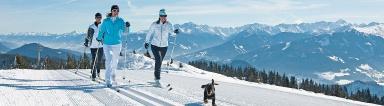 Evaluierung Langlaufen/ Winterwandern im Kaiserwinkl