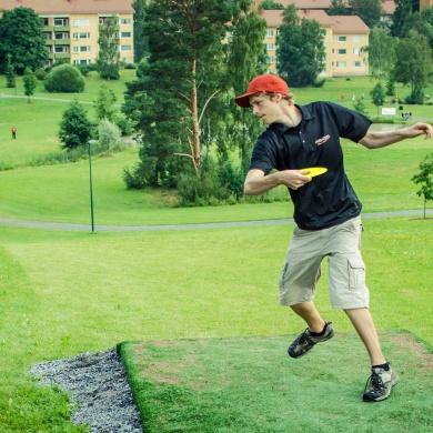 Disc Golf Parcours