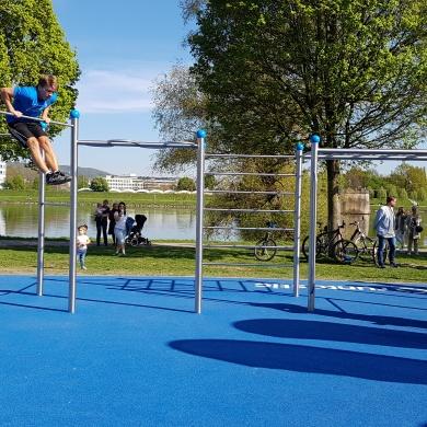 Der Runtastic Fitness Park by Runnersfun in Linz wurde eröffnet!