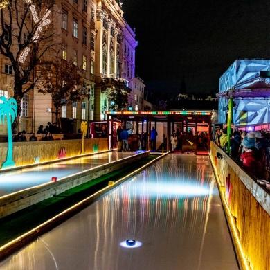 Wonder-Ice® Eisstockbahn MQ Wien