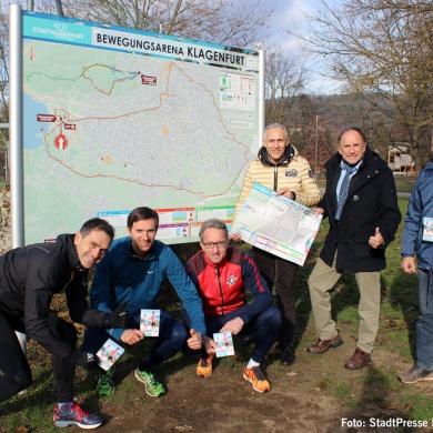Bewegungsarena Klagenfurt lädt zum Sport ein