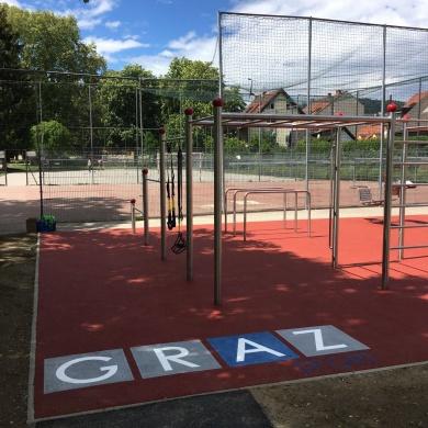 Die Street Workout Arena Graz ist eröffnet!