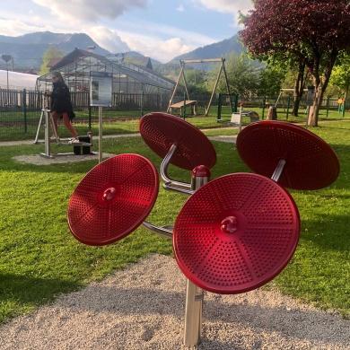 Vitalitäts- und Fitnessparcours in Bad Mitterndorf nun auch offiziell eröffnet