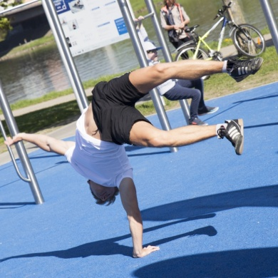 Auch Graz setzt auf neuen Fitnesstrend
