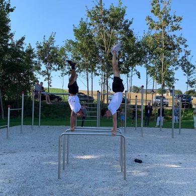 Wolfern eröffnet  Bewegungsparcours – RTV berichte...