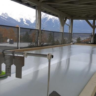 Lattlschießen auf WONDER ICE® im Arzlerhof!