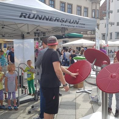 RUNNERSFUN am Tag des Sports in Leoben