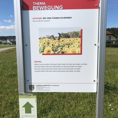 Erster Brainwalk® in der LEADER-Region Sterngartl-Gusental.