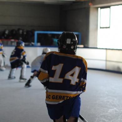 Ist Synthetikeis die Zukunft des Eisstocksports?