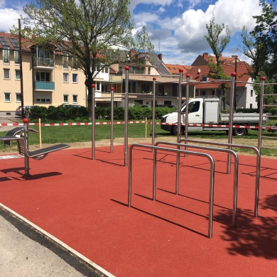 Street Workout Arena Graz Volksgarten