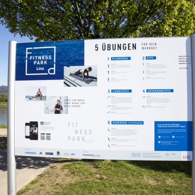 Runtastic Fitness Park Linz