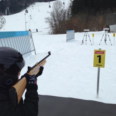 Biathlon Schleife + Laser Biathlon Anlage Nassfeld