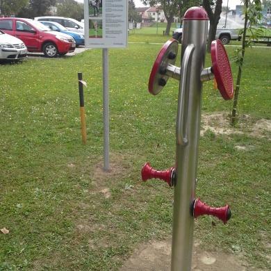 Vital- und Fitnessparcours Zwentendorf