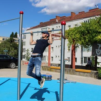 Calisthenics Parcours Wien Bodenstedtgasse