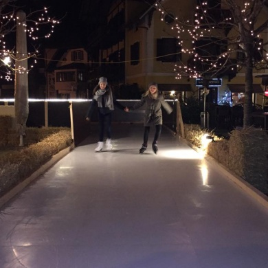 WONDER-ICE® Arena Hotel Post Traunkirchen