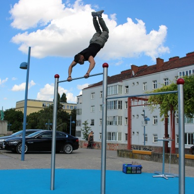 Vitalitäts- und Fitnessparcours Wien Bodenstedtgasse