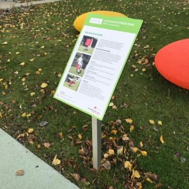 Outdoor Fitness Park Wien BVA