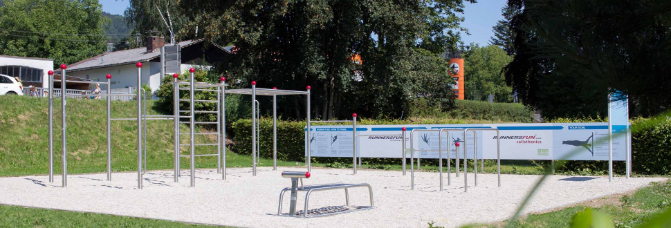 Calisthenics-Parcours Altmünster in der Bezirksrundschau