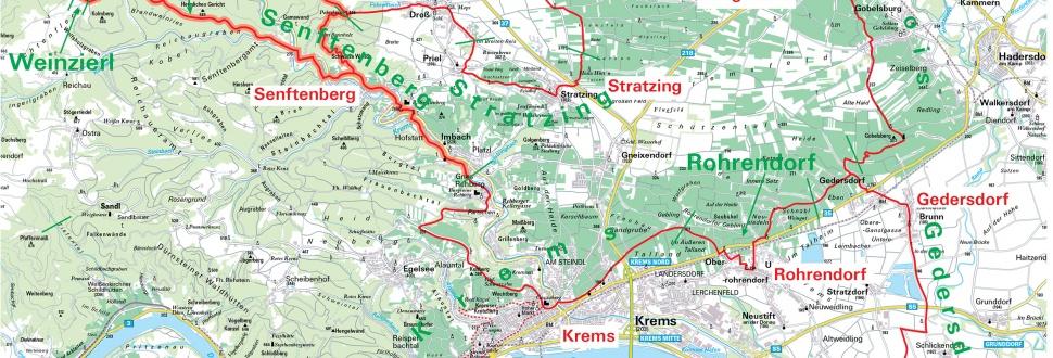 Wein- Weitwanderweg Kremstal NÖ