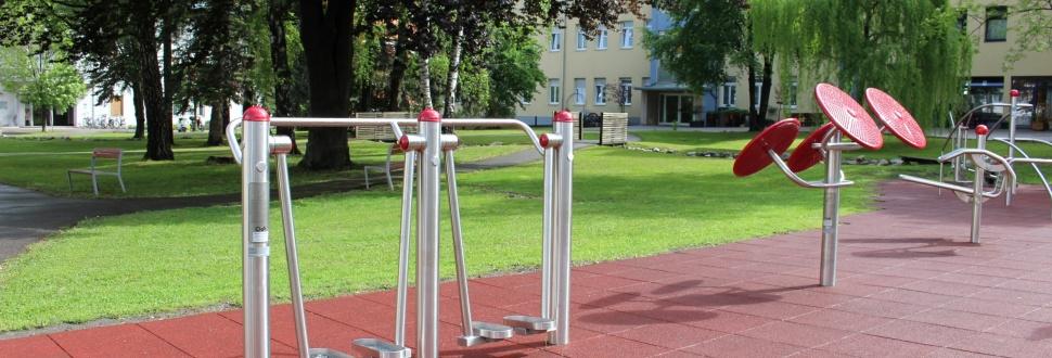 """Mit Sensotorik® Outdoor Fitness zum """"Lebenszentrum"""""""