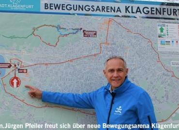 Die neue Bewegungsarena von Klagenfurt