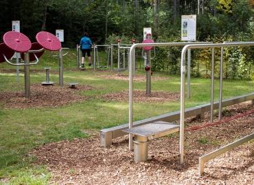 Outdoor Fitness Park Vortuna Gesundheitsresort