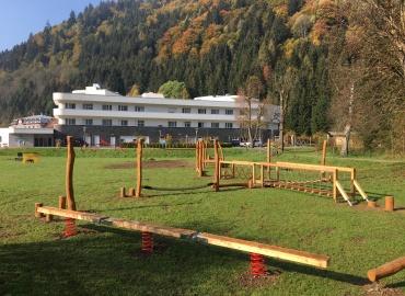 Niederseilgarten Wildbad Einöd