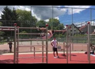 Eröffnung Street Workout Arena Volksgarten Graz