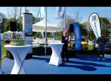 Eröffnung Runtastic Fitness Park Linz - Rede Bürgermeister Klaus Luger