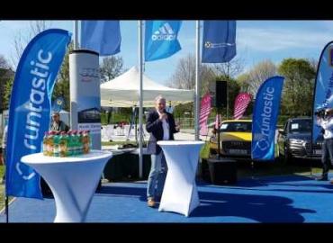 Eröffnung Runtastic Fitness Park Linz - Rede Runnersfun Geschäftsführer Erich Mayr