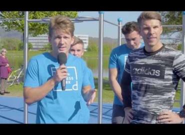 Runtastic Fitness Park Opening Linz